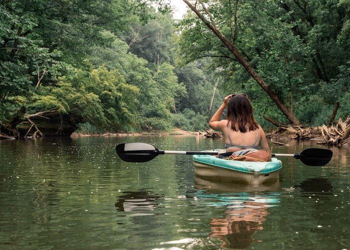 Cave Run Lake Kayaking near RV Park