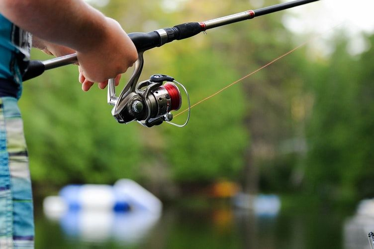 Fishing at Sheltowee RV Park & Cabins